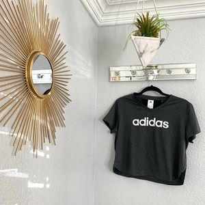 Adidas Grey Work Out T Shirt